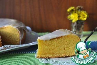 Рецепт: Бразильский морковный пирог