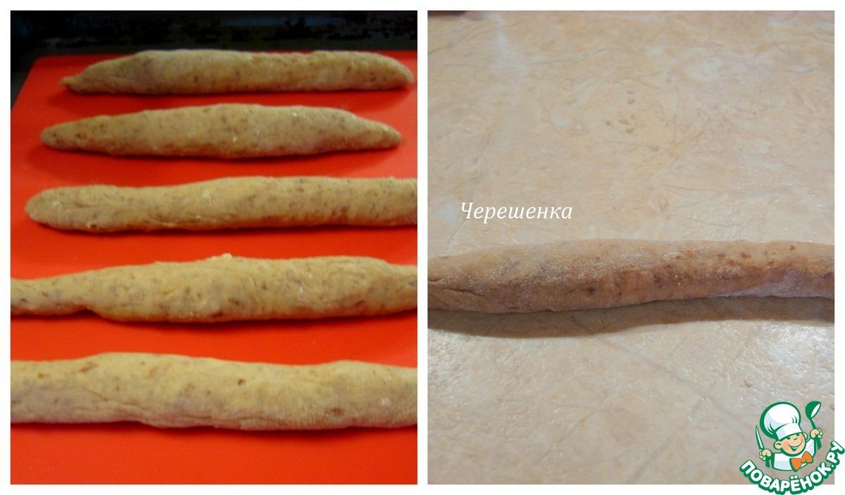 Ореховые трубочки с фасолью и мандарином