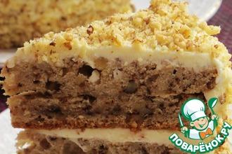 Рецепт: Пастернаковый торт