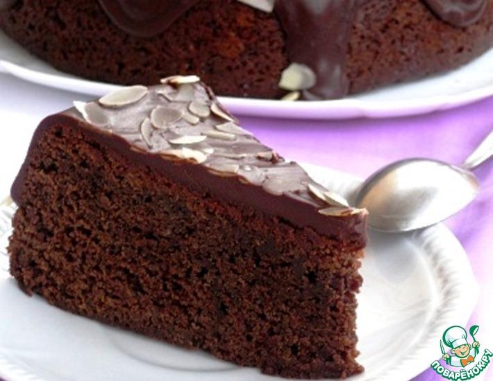 Рецепт: Трюфельный торт