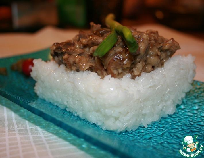 Рецепт: Вкусный рис