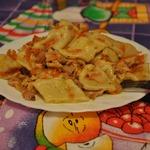 Домашняя лапша с курицей Тетушкин рецепт