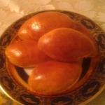 Постные пирожки с гречкой