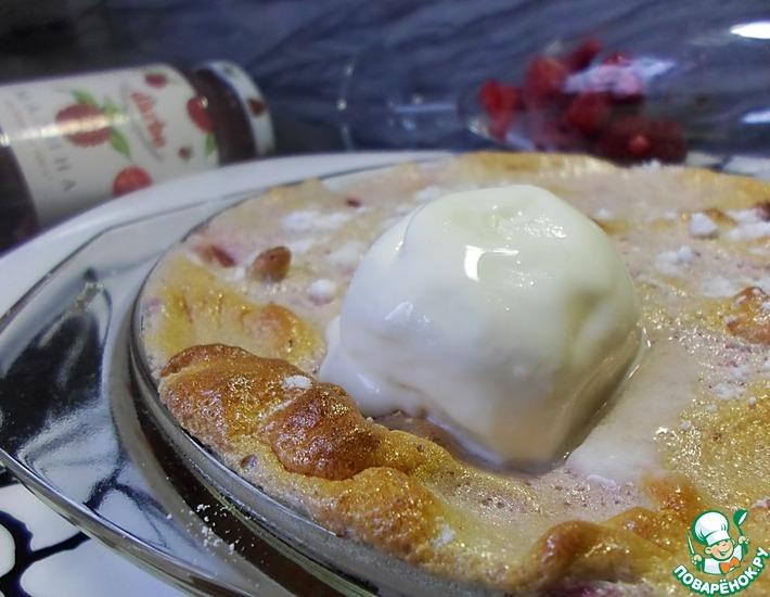 Рецепт: Запеченное суфле с ягодами и конфитюром