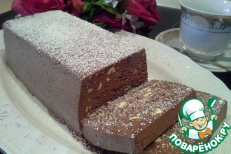 Рецепт: Семифредо шоколадно-фисташковое