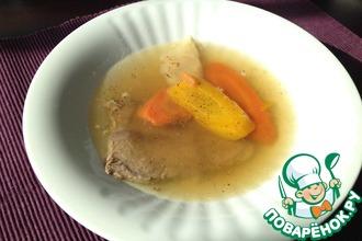 Рецепт: Говяжий суп по-венски