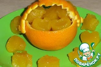 """Рецепт: Рисово-апельсиновые конфетки """"Рай от Мистраль"""""""
