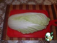 Фаршированная пекинская капуста ингредиенты