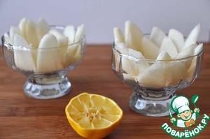 Грушевый салат с нежным кремом – кулинарный рецепт