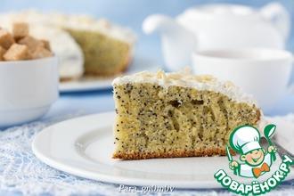 Рецепт: А-ля венский пирог с маком
