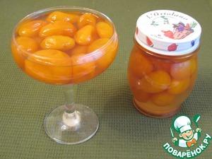 Готовые кумкваты выложить в емкость залить сиропом. Кожица у плодов тоненькая, плоды напитались сиропом, очень необычного вкуса получилось варенье.