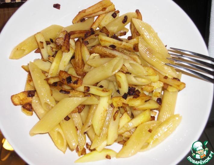 Рецепт: Картофель жареный Нестандартный