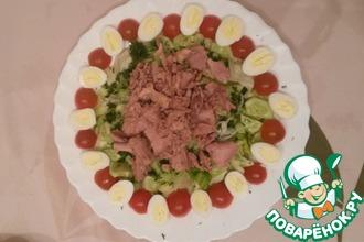 Рецепт: Салат из тунца Мой вариант