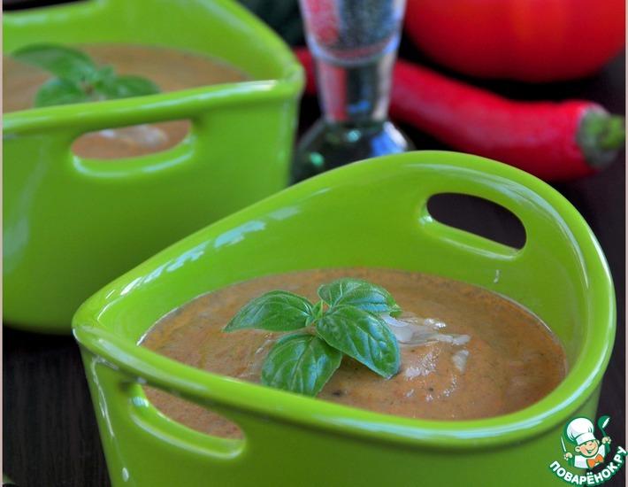 Рецепт: Суп-пюре из молодых овощей