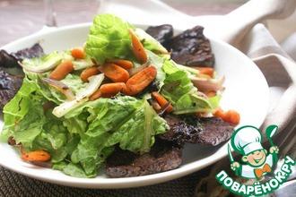 Рецепт: Салат для мужчин с ростбифом