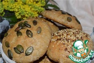 Рецепт: Пшенные хлебцы