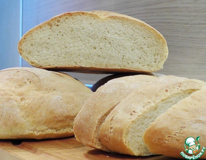 Рецепт: Хлеб постный