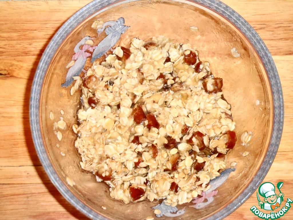 Печенье овсяное с финиками