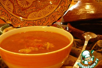 Рецепт: Марокканский суп Харера