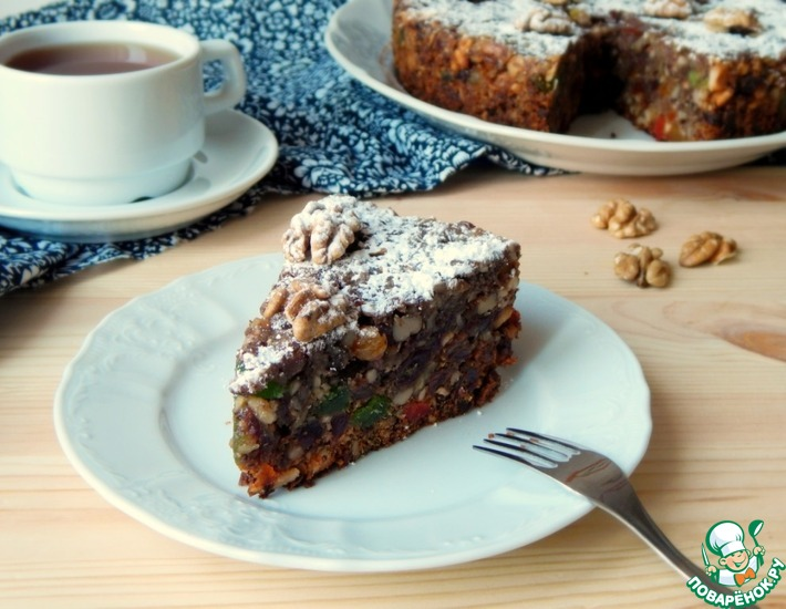 Рецепт: Ореховый пирог в мультиварке