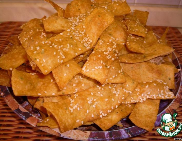 Рецепт: Хлебцы Хворостинки