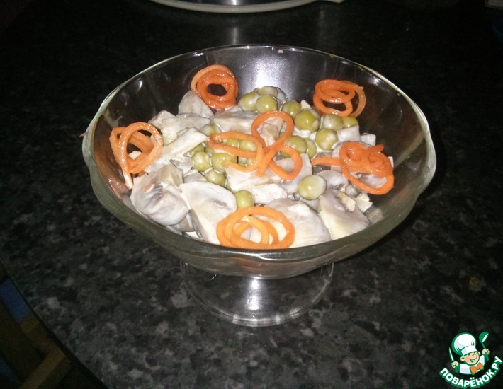 Рецепт: Простейший салат