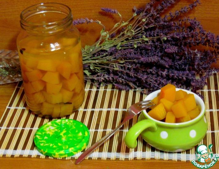 Рецепт: Тыква маринованная в яблочном соке