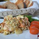 Запеканка с зерненым творогом – кулинарный рецепт