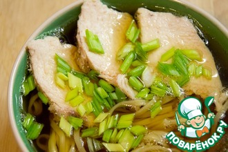 Рецепт: Суп-лапша с японским вкусом