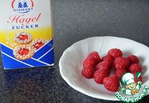 Малиновый сахар для украшения сладкой выпечки – кулинарный рецепт