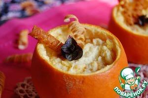 Рецепт Апельсиново-абрикосовое суфле