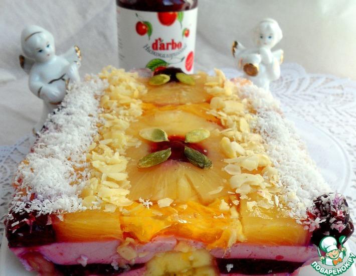 Рецепт: Фруктово-творожный десерт с D'arbo