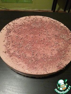 Рецепт Шоколадно-банановый торт без выпечки