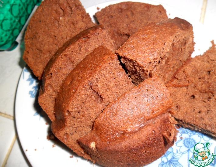Рецепт: Шоколадный кекс (в ХП)