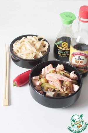 Рецепт Азиатский наборный суп с лапшой удон