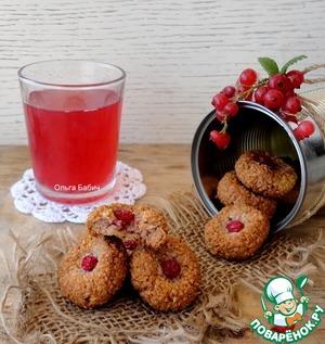 Рецепт Миндально-овсяное печенье