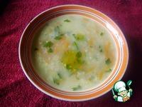 Пшенный суп с чесноком ингредиенты