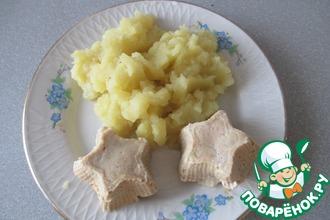 Рецепт: Суфле из телятины в мультиварке