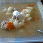 Овощной суп Цветной