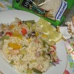 Паэлья с морепродуктами постная