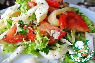 Рецепт: Салат белковый