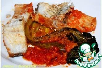 Рецепт: Рыба в капусте