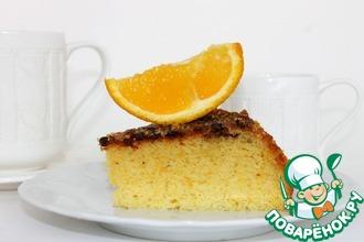 Рецепт: Манная запеканка на апельсиновом соке