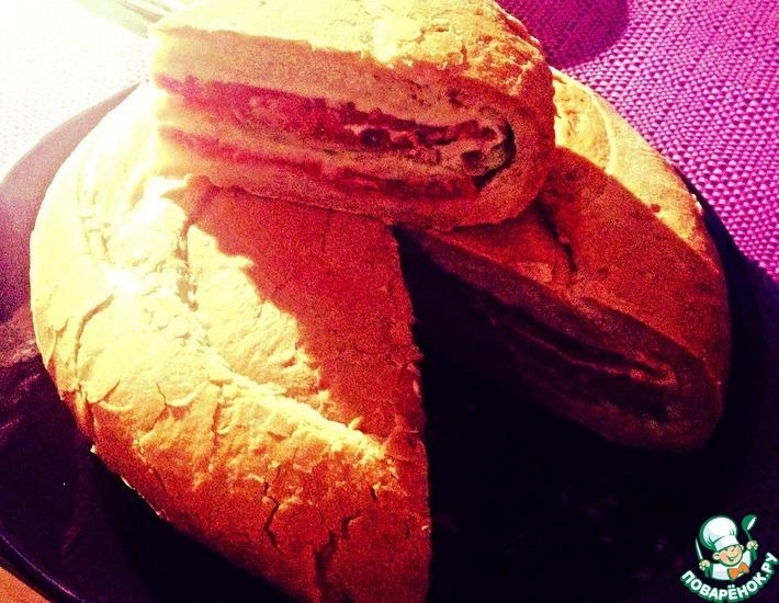 Рецепт: Бутерброд Мужская радость