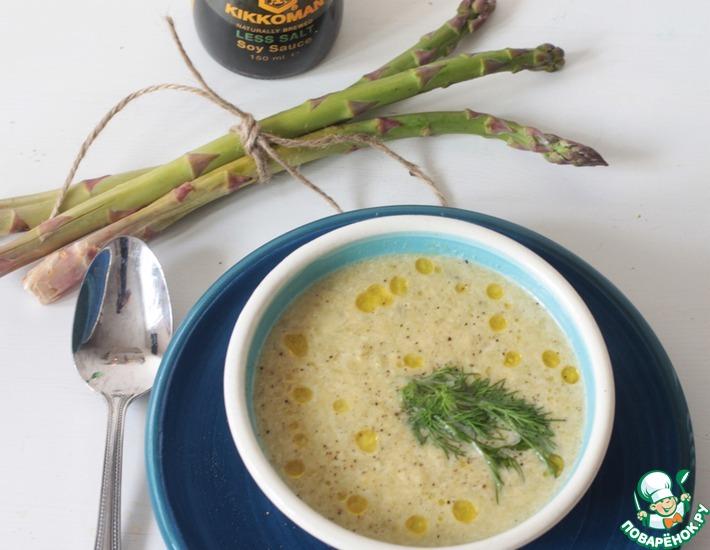 Рецепт: Очень быстрый сливочный суп