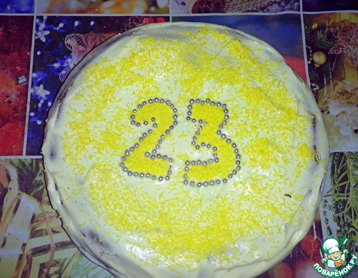 Рецепт: Торт Нежность