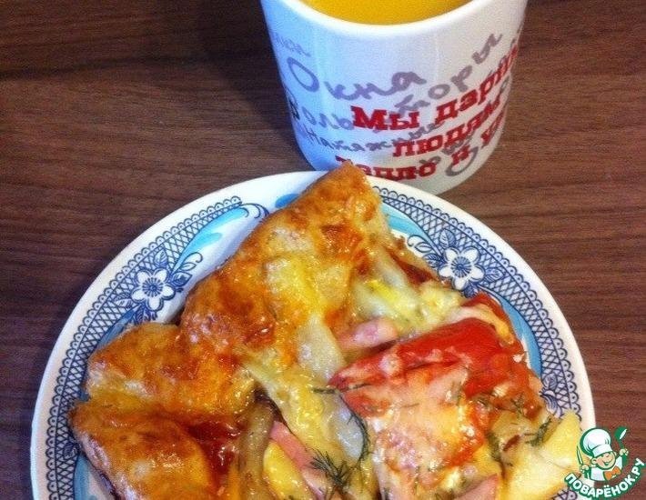 Рецепт: Пицца Воспоминания о детстве