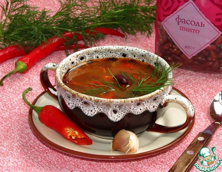постный суп чили рецепт