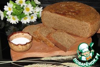 Рецепт: Хлеб на ржаном солоде