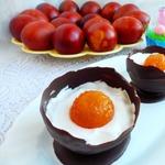Пасхальный шоколадный десерт